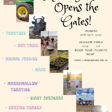 Redwing Farm Opens the Gates